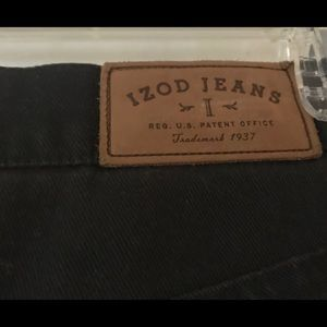 Black Izod Stretch Jeans size 12